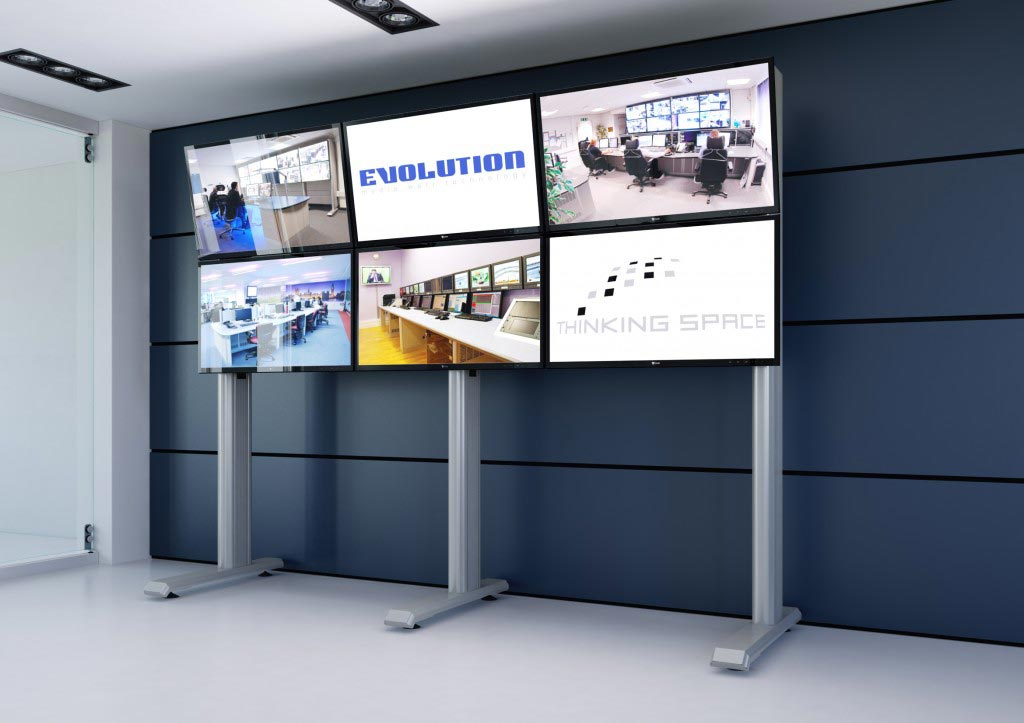 evolution-media-wall-3x2-monitor configuration