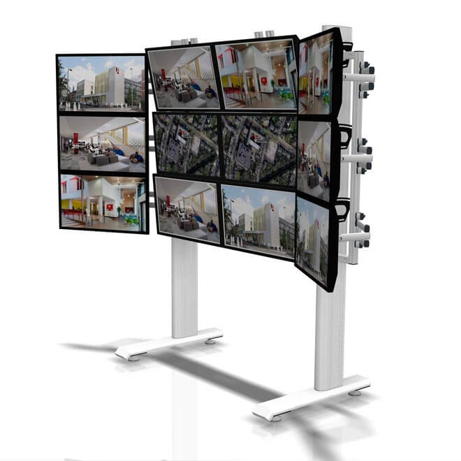 monitor mounting example