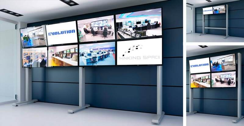 Standard media walls