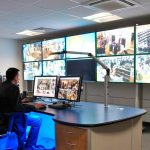 CCTV Control Room Media Wall Applications