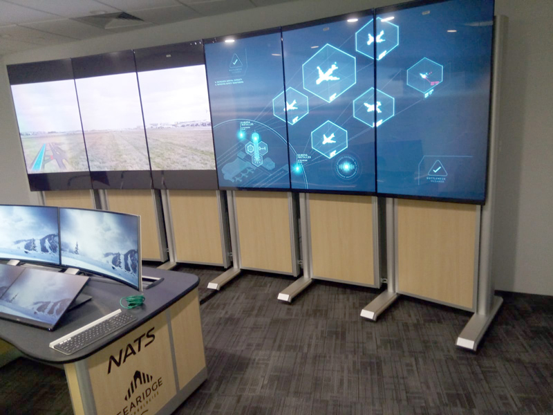 Evolution Media Wall Remote Digital Tower example photo