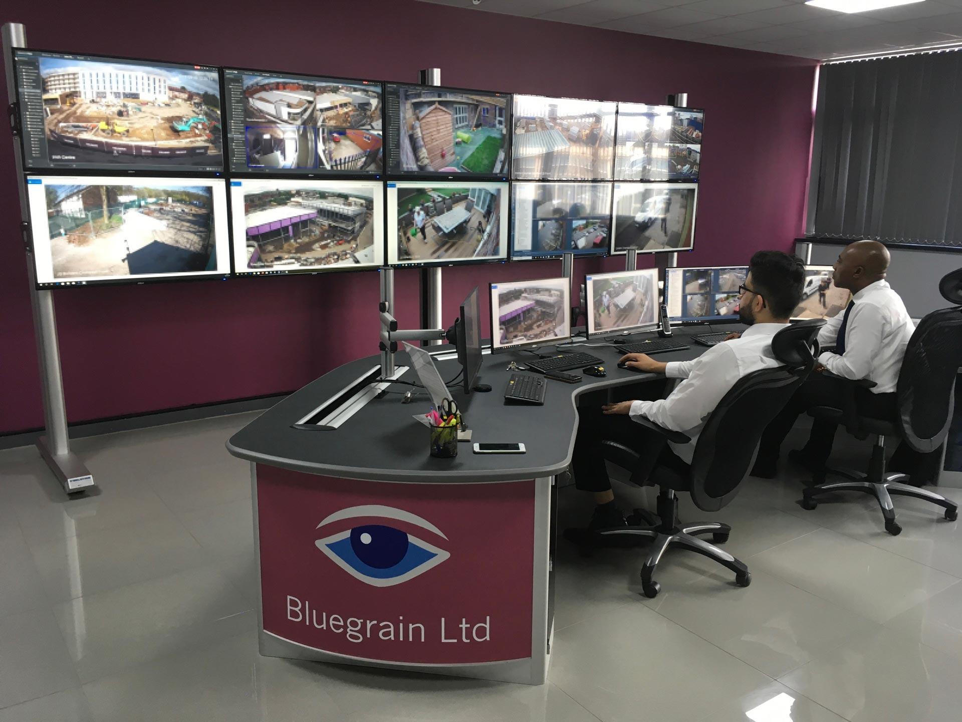 standard configuration cctv control room